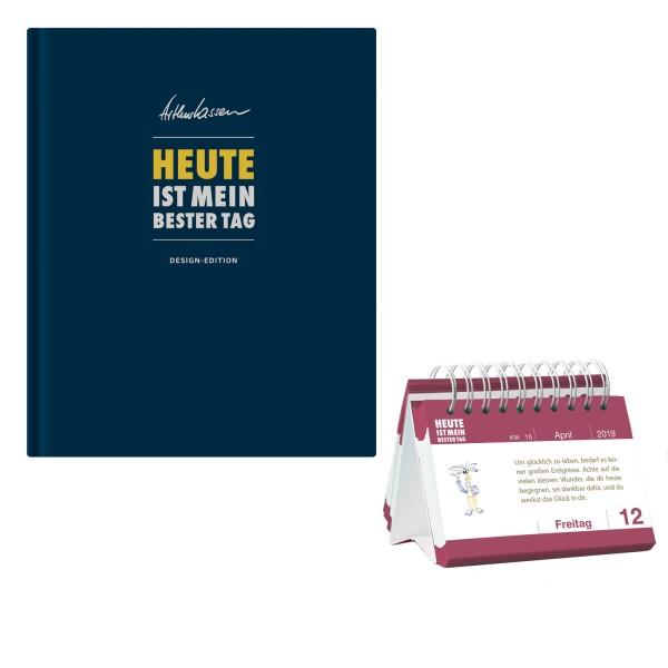 HEUTE ist mein bester Tag - Design-Edition + Tagesspruchkalender 2019