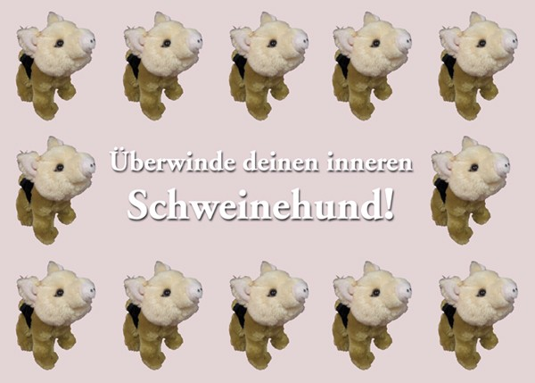 Schwups-Postkarte