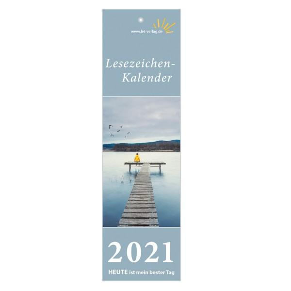 Lesezeichenkalender 2021 - 10er-Set