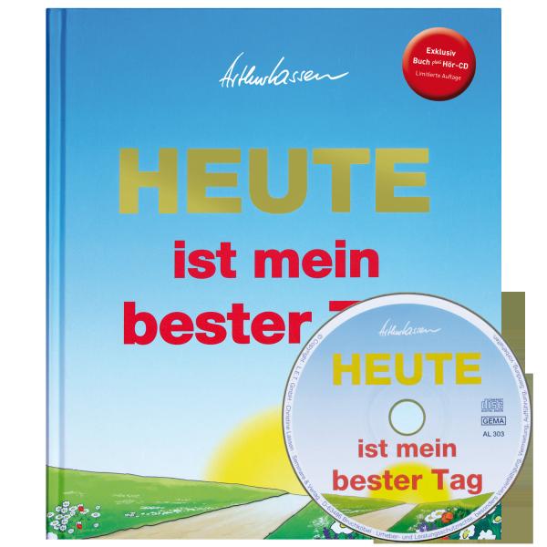 """Buch """"HEUTE ist mein bester Tag"""" + Hör-CD im Set"""