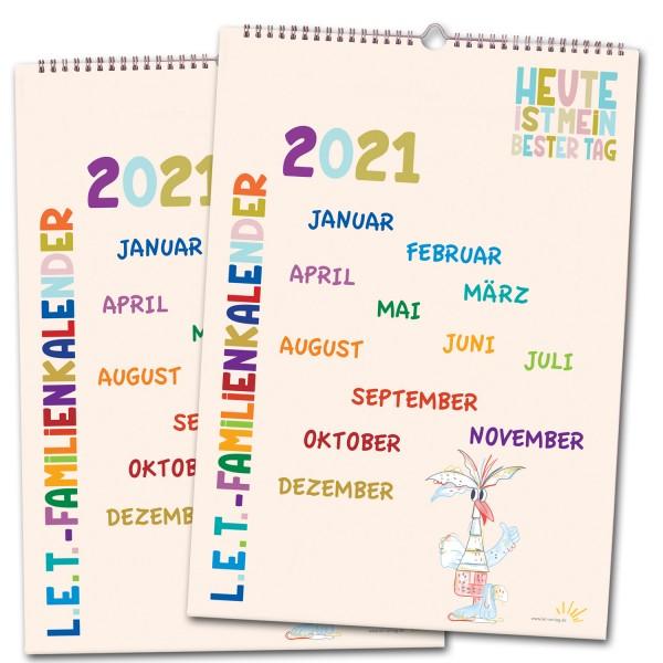 Familienkalender 2021 - 2er-Set