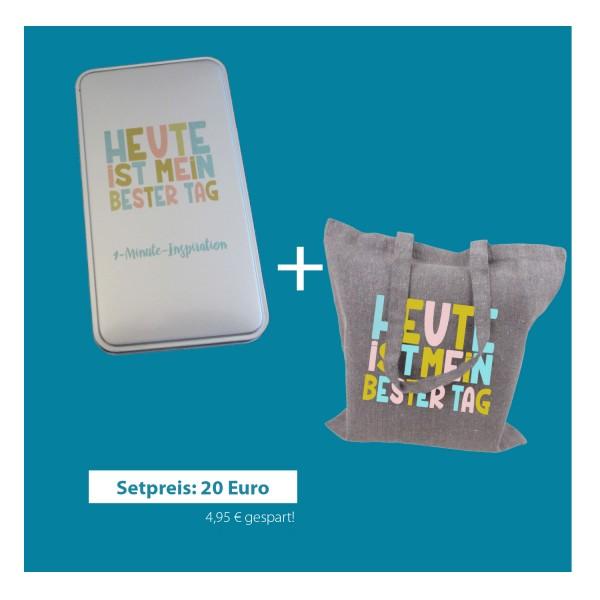 1-Minute-Inspiration + Cotton-Bag