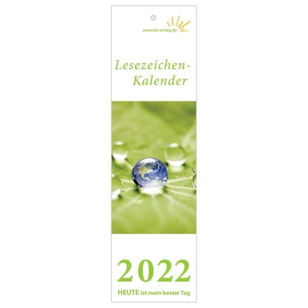 Lesezeichenkalender 2022