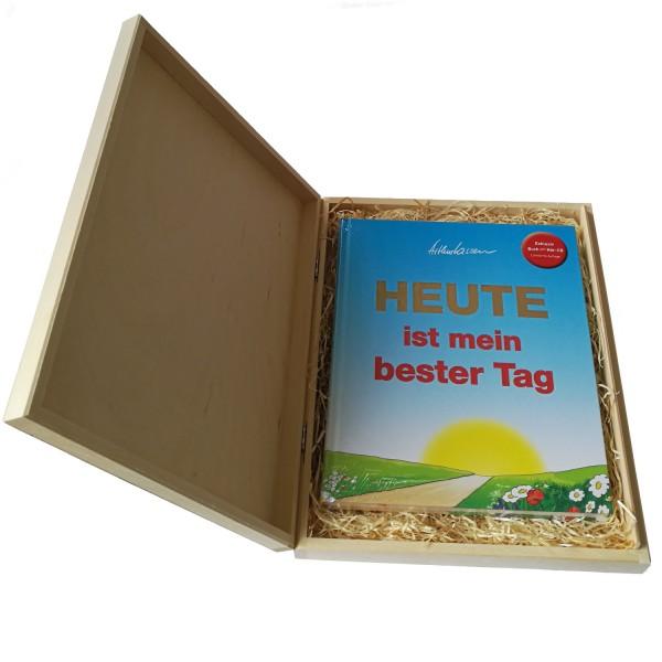 Geschenkbox + HEUTE-Buch incl. Hör-CD