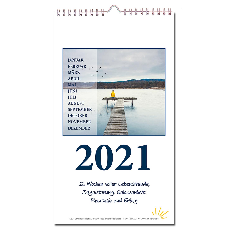wochenkalender 2021  3erset  kalender für die wand